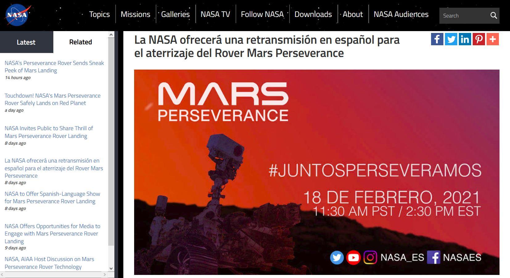 https://www.nasa.gov/press-release/la-nasa-ofrecer-una-retransmisi-n-en-espa-ol-para-el-aterrizaje-del-rover-mars